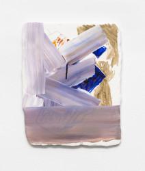 "Koala, Gouache, ink, hydrocal, fiberglass mesh, plywood, 8 x 10"", 2013"